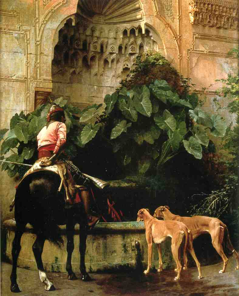 Home from the Hunt 1876   Jean Leon Gerome   Oil Painting