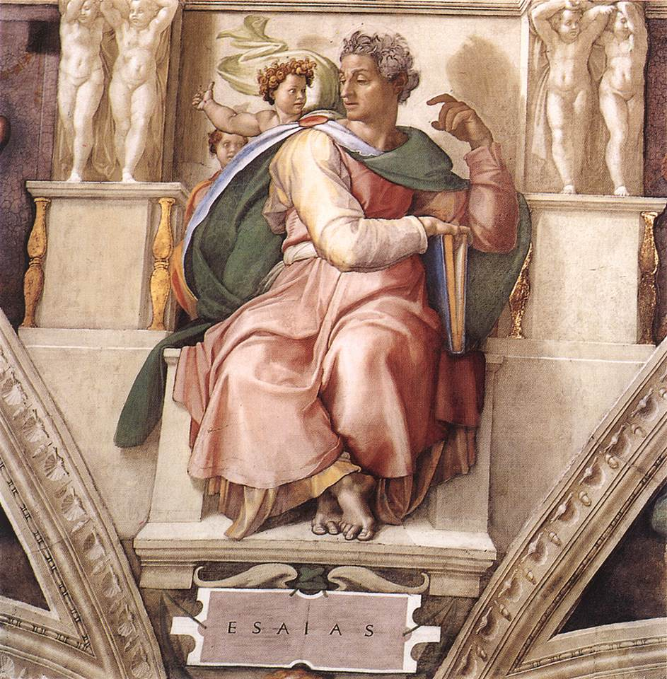 Isaiah 1509 | Michaelangelo | Oil Painting