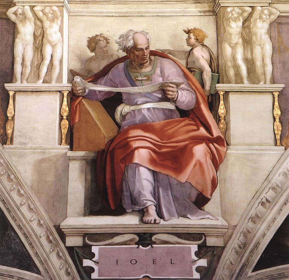 Joel 1509   Michaelangelo   Oil Painting
