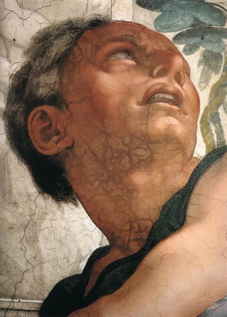 Jonah (Detail) 2 1511 | Michaelangelo | Oil Painting