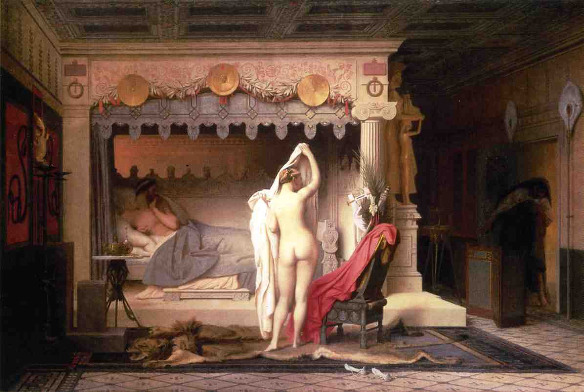 King Candaules 1859 | Jean Leon Gerome | Oil Painting