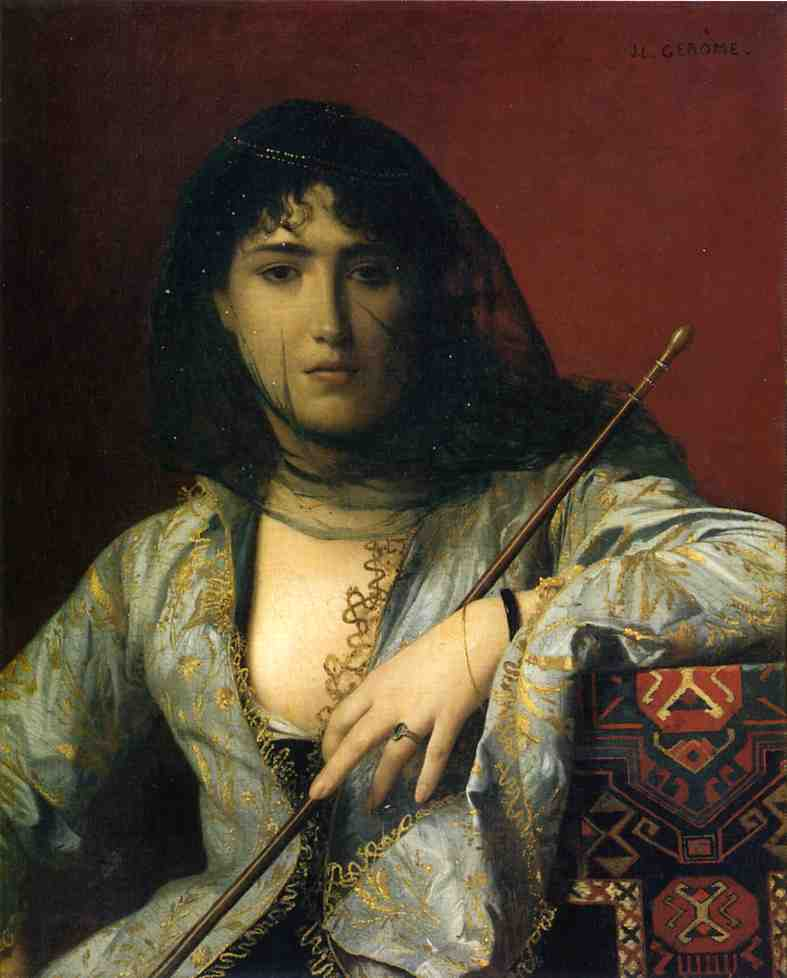 Veiled Circassian Woman 1876 | Jean Leon Gerome | Oil Painting