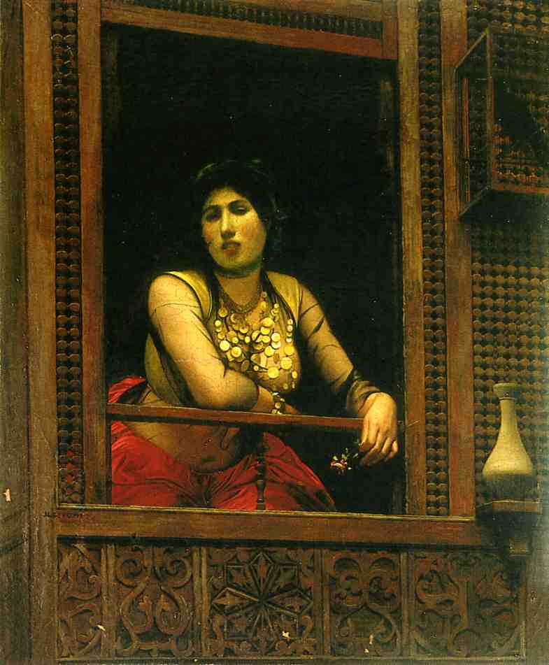 Woman at Her Window 1888 | Jean Leon Gerome | Oil Painting