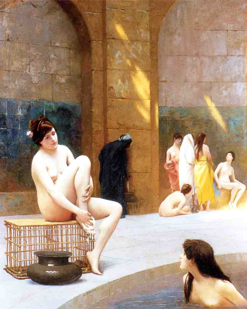 Women Bathing 1889 | Jean Leon Gerome | Oil Painting