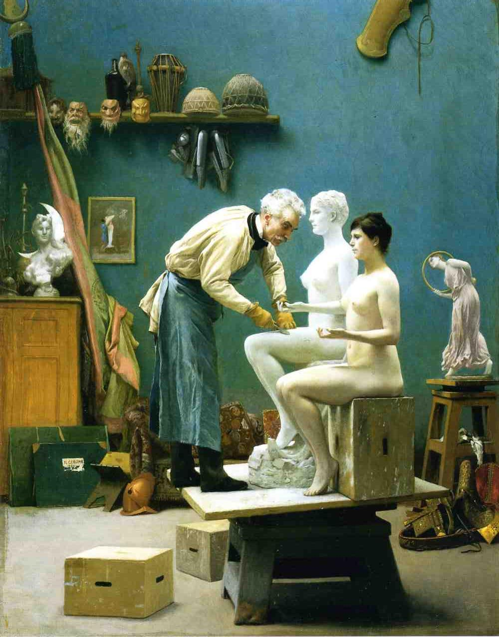 Working in Marble 1895 | Jean Leon Gerome | Oil Painting