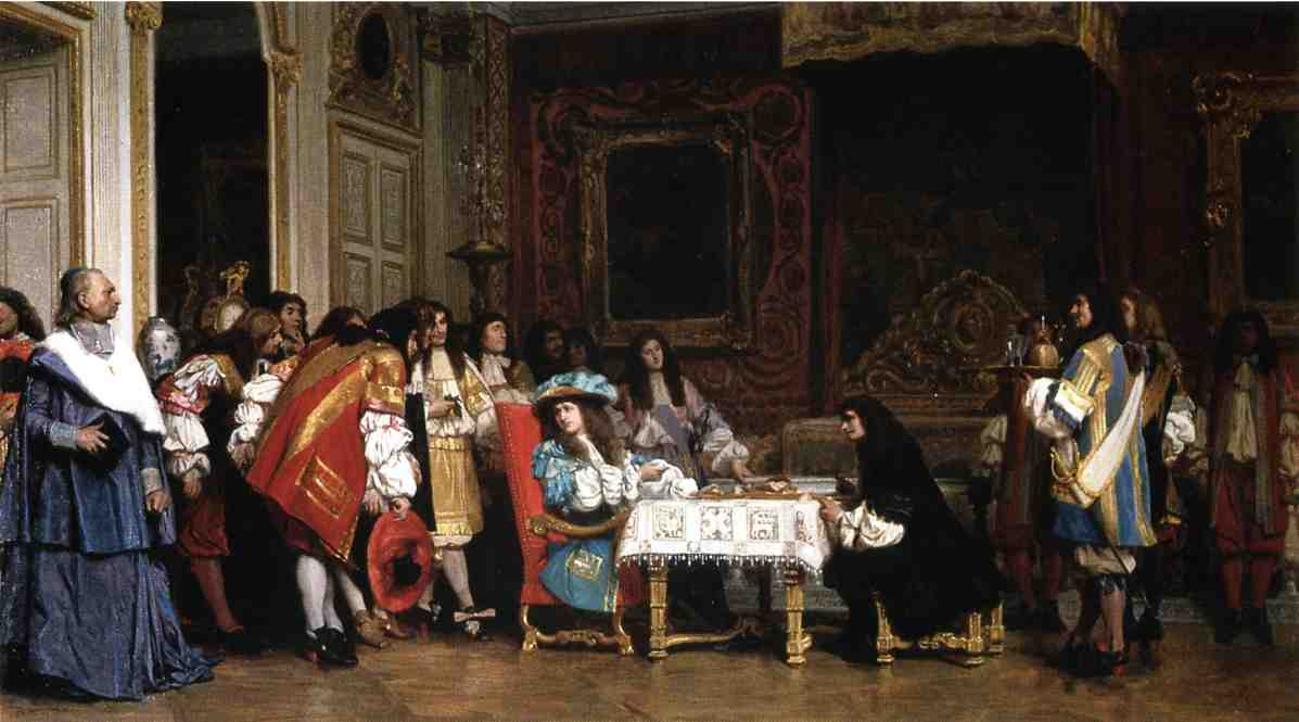 Louis XIV and Moliere 1862 | Jean Leon Gerome | Oil Painting