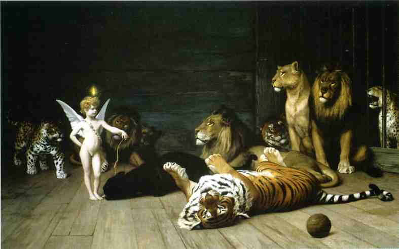 Love Conquers All 1889 | Jean Leon Gerome | Oil Painting