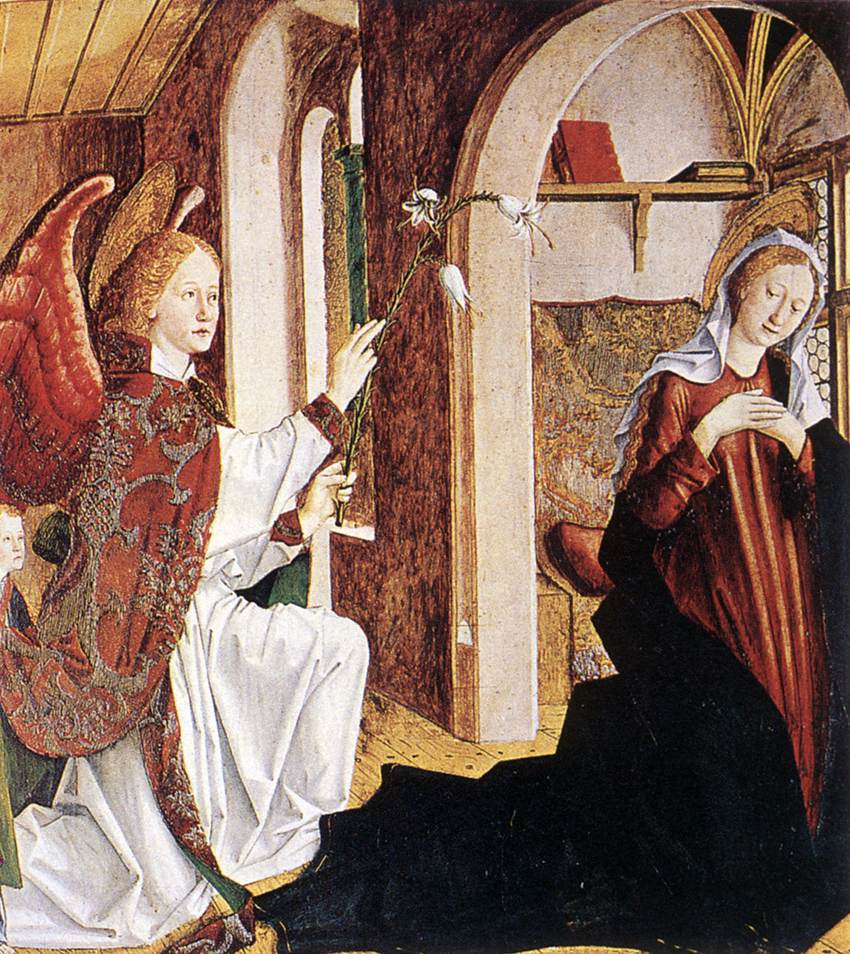 Annunciation 1465-70 | Michael Pacher | Oil Painting