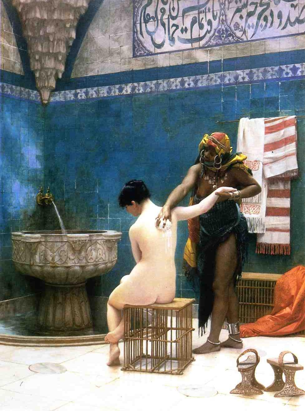 Moorish Bath 1870 | Jean Leon Gerome | Oil Painting