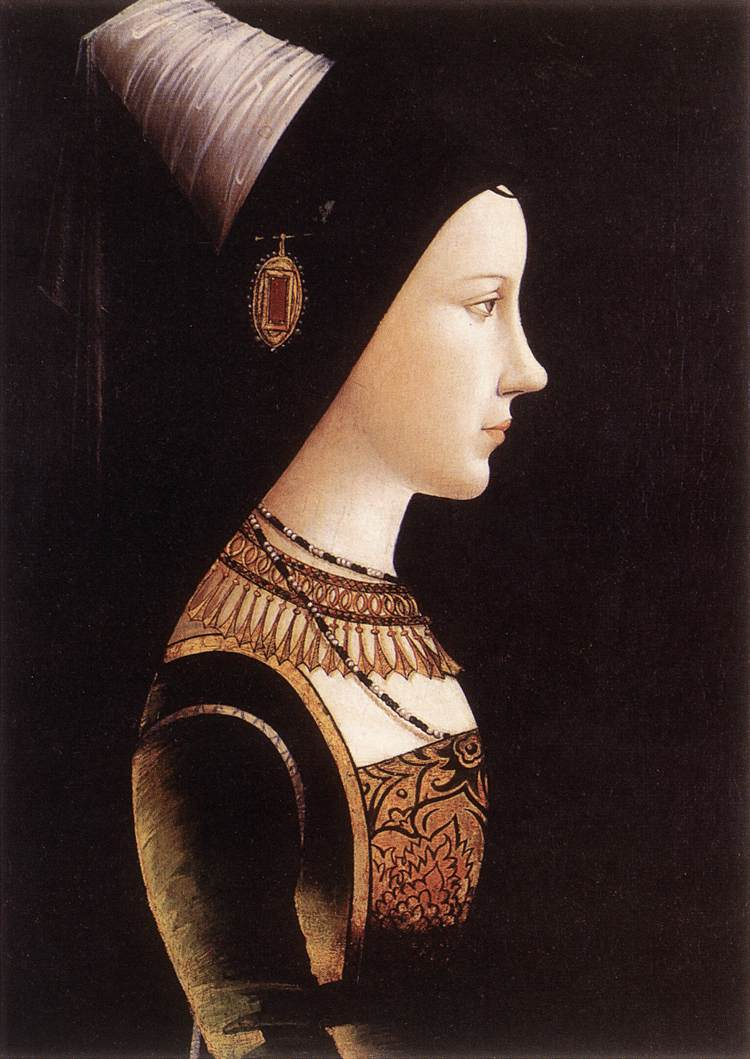 Mary Of Burgundy 1490 | Michael Pacher | Oil Painting