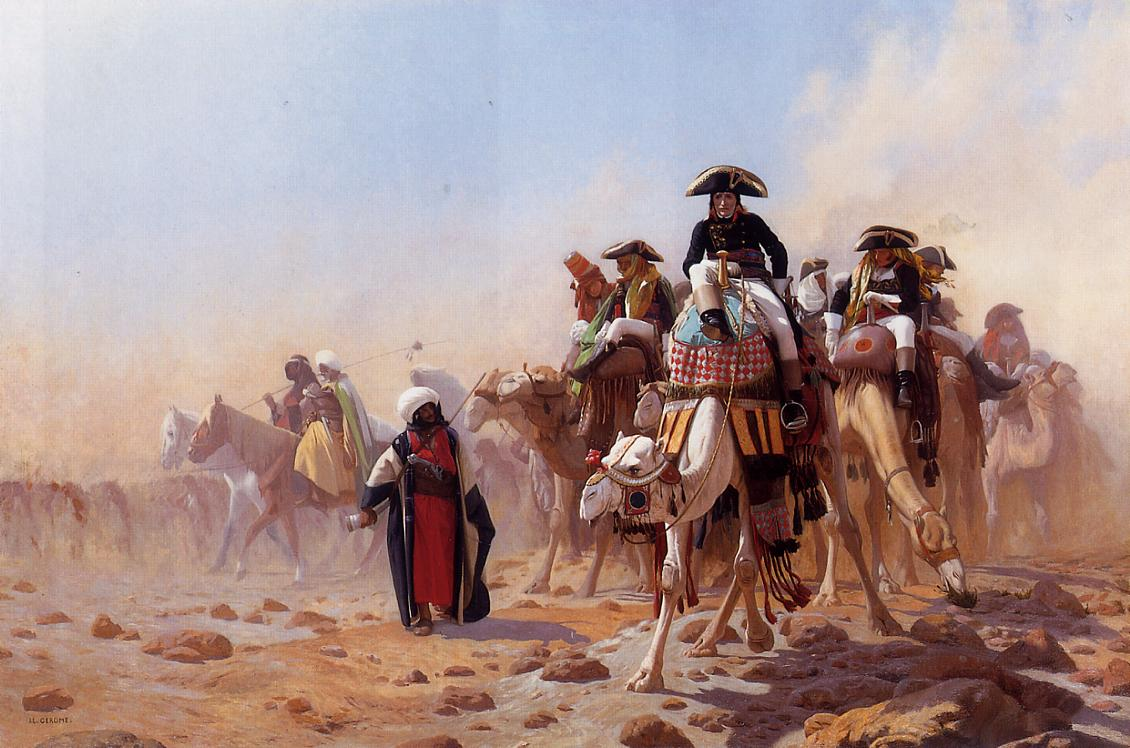 Napoleon and His General Staff 1867 | Jean Leon Gerome | Oil Painting