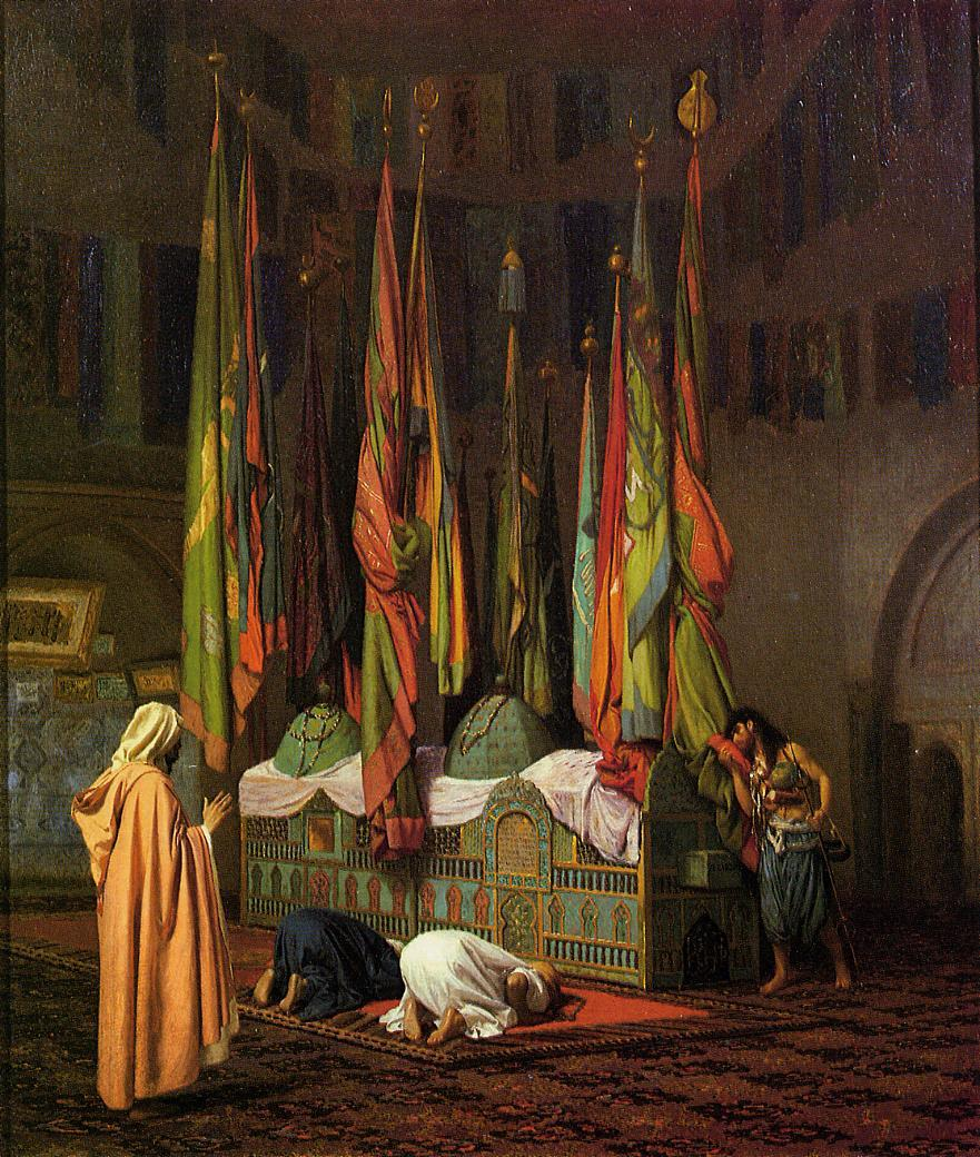 The Tomb of Hazrat Imam Hisain Allahis Salam | Jean Leon Gerome | Oil Painting
