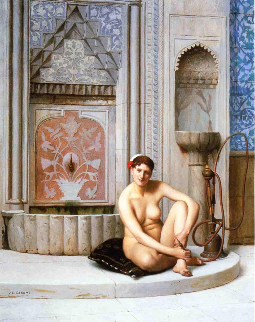 Nude | Jean Leon Gerome | Oil Painting