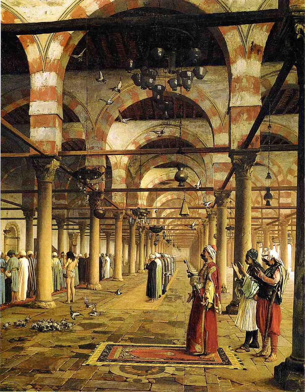Paryer in the Mosque 1871 | Jean Leon Gerome | Oil Painting