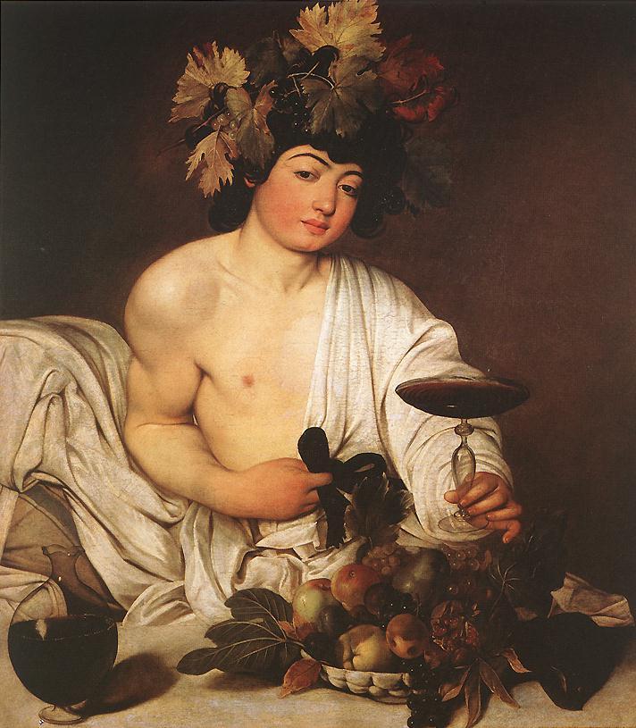 Bacchus | Michelangelo Merisi da Caravaggio | Oil Painting