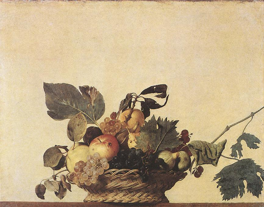 Basket of Fruit | Michelangelo Merisi da Caravaggio | Oil Painting
