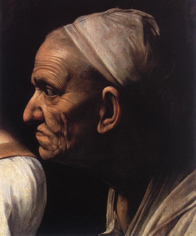 Caravaggio Judith Beheading Holofernes detail2 | Michelangelo Merisi da Caravaggio | Oil Painting