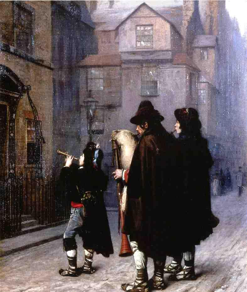 Pifferari in London 1870 | Jean Leon Gerome | Oil Painting