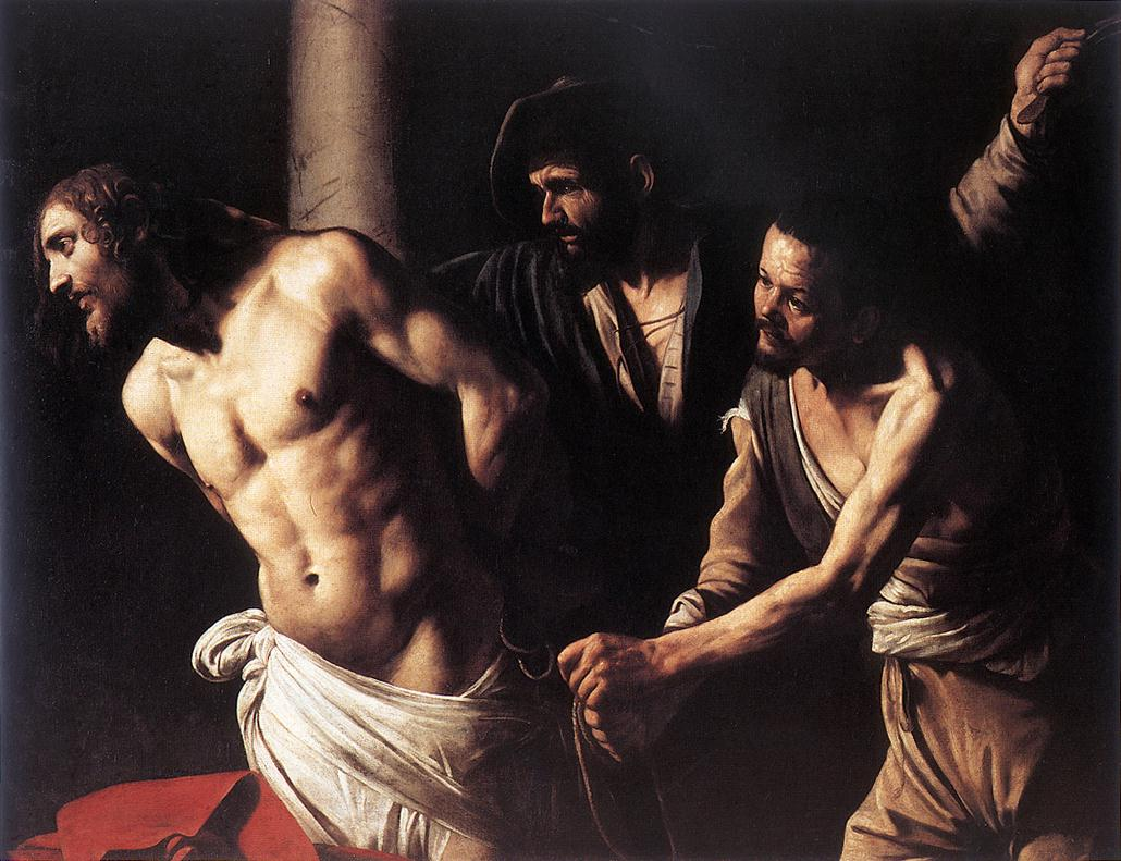 Christ at the Column | Michelangelo Merisi da Caravaggio | Oil Painting