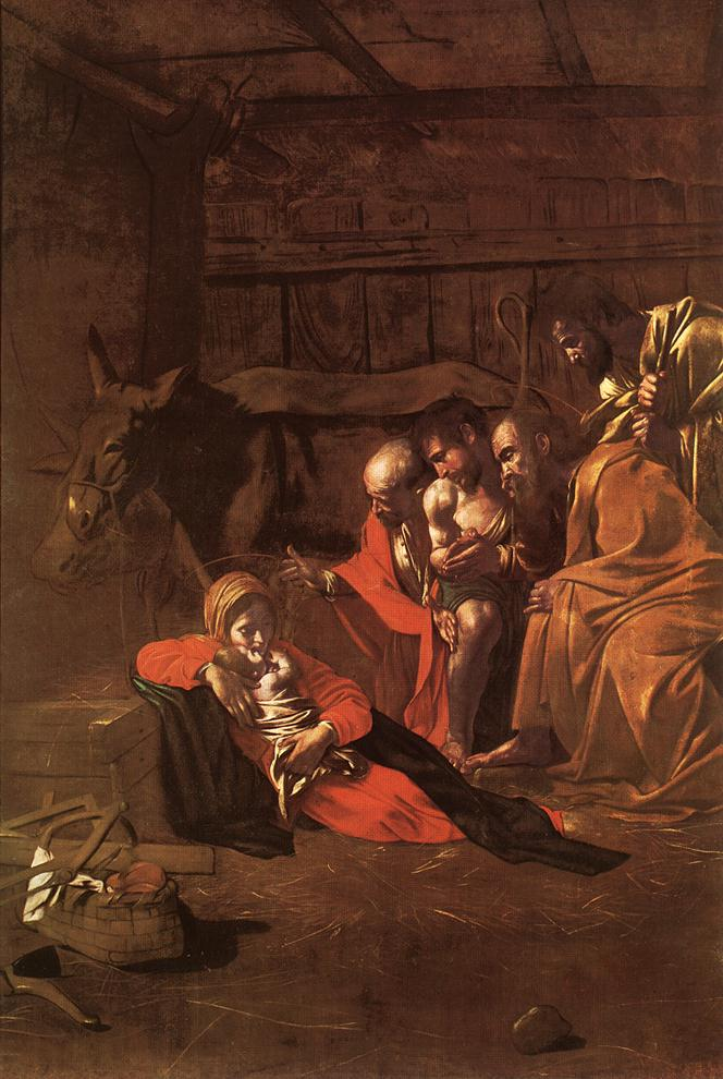 Adoration of the Shepherds | Michelangelo Merisi da Caravaggio | Oil Painting