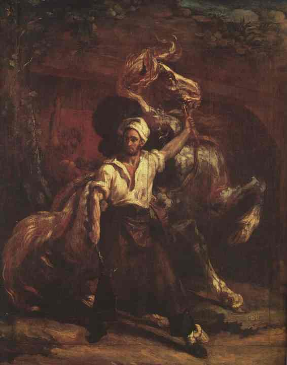The Blacksmiths Signboard 1814   Jean Louis Andre Theodore Gericault   Oil Painting
