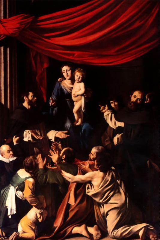 Madonna | Michelangelo Merisi da Caravaggio | Oil Painting