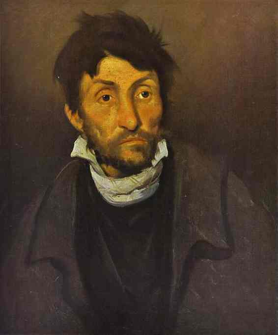 The Madman 1822 | Jean Louis Andre Theodore Gericault | Oil Painting