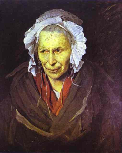 The Madwoman 1822-23 | Jean Louis Andre Theodore Gericault | Oil Painting