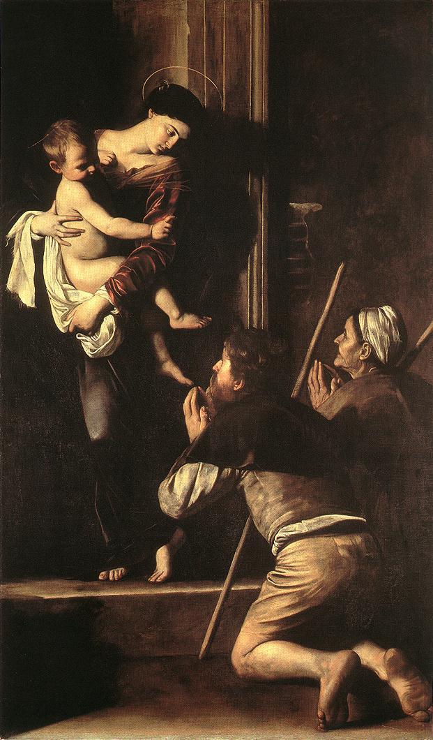 Madonna di Loreto | Michelangelo Merisi da Caravaggio | Oil Painting
