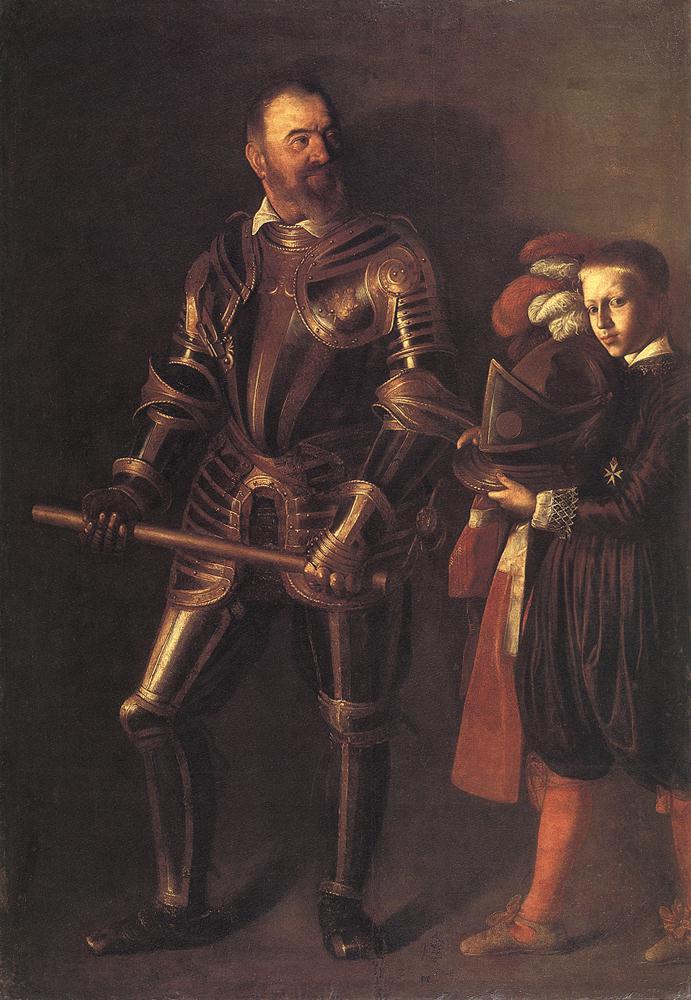 Portrait of Alof de Wignacourt1   Michelangelo Merisi da Caravaggio   Oil Painting
