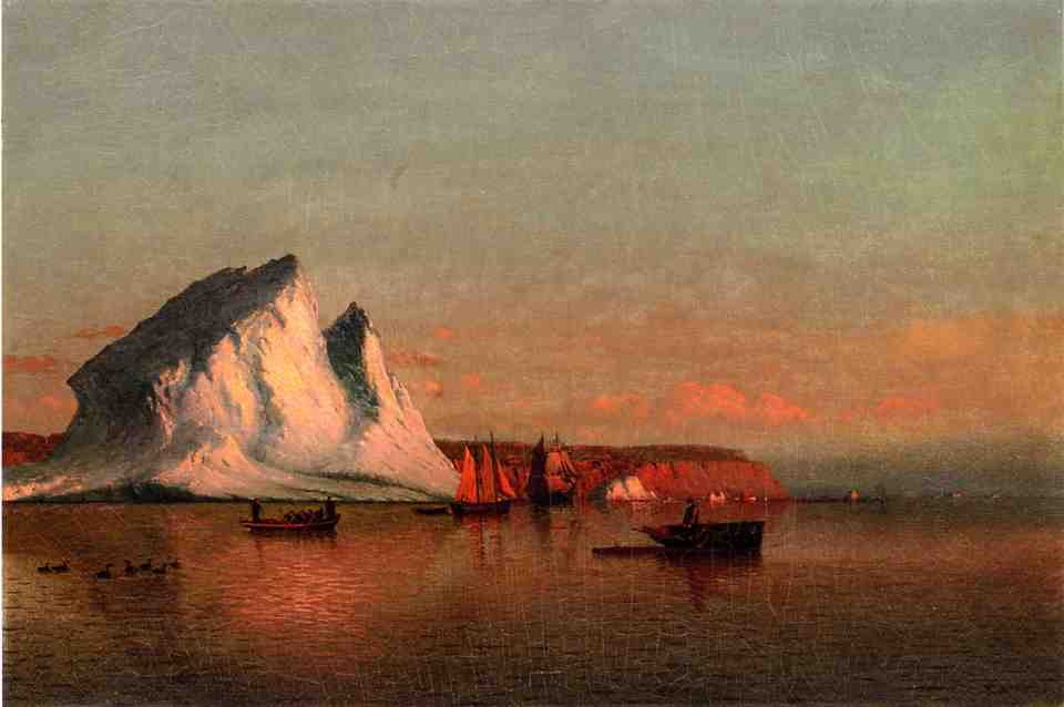 A Calm Afternoon the Coast of Labrador  1875 | Jean-Louis Forain | Oil Painting
