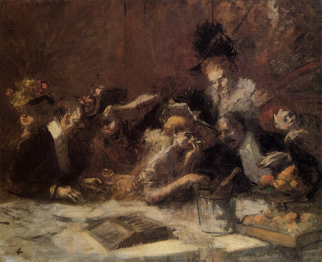 Cafe Maxim Paris | Jean-Louis Forain | Oil Painting