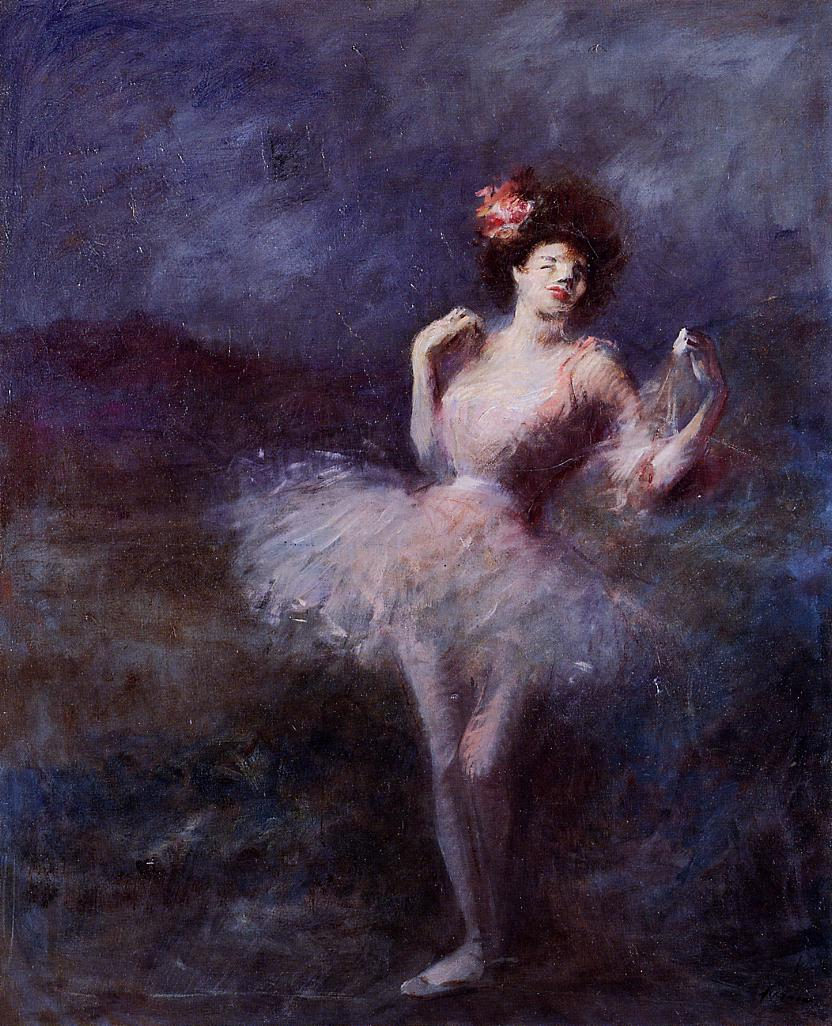 Dancer | Jean-Louis Forain | Oil Painting