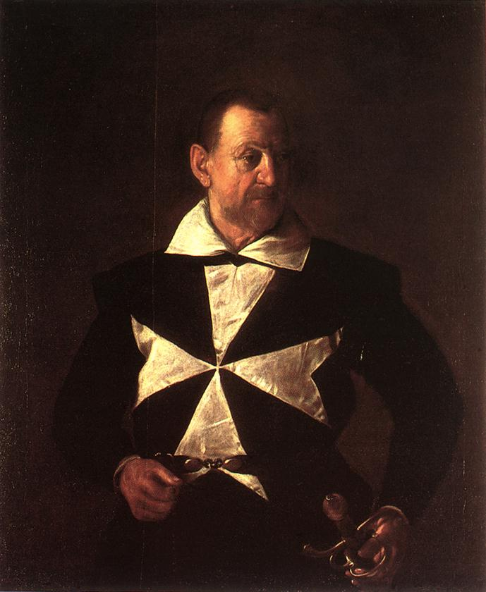 Portrait of Alof de Wignacourt2   Michelangelo Merisi da Caravaggio   Oil Painting