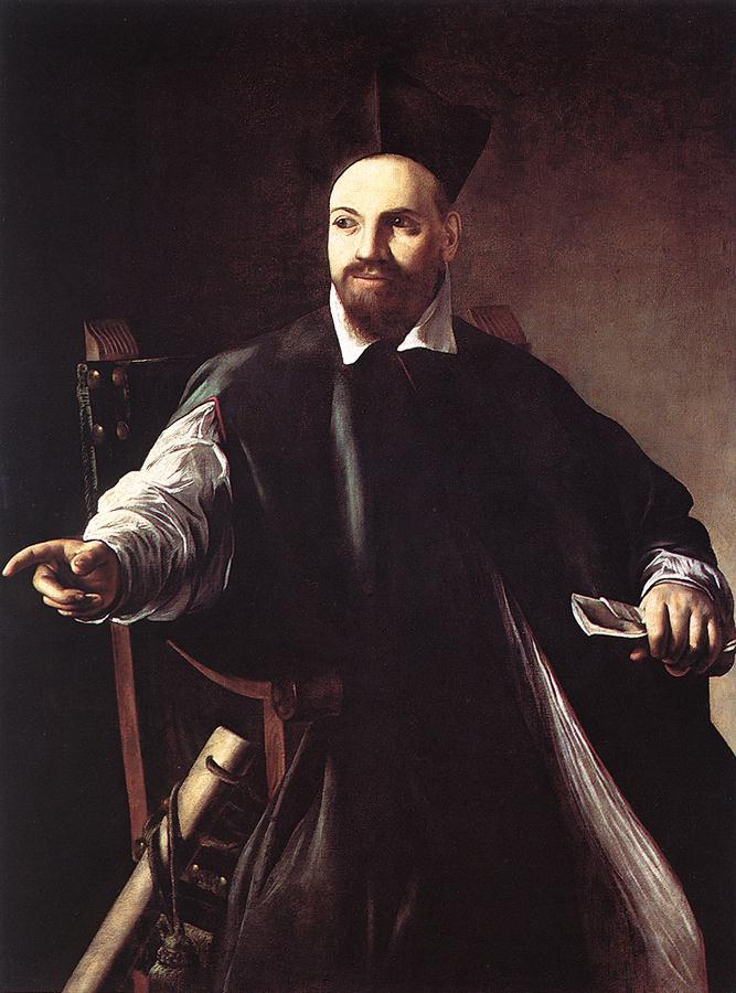 Portrait of Maffeo Barberini   Michelangelo Merisi da Caravaggio   Oil Painting