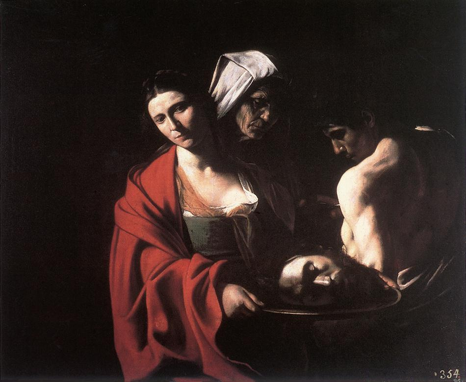 Salome with the Head of the Baptist   Michelangelo Merisi da Caravaggio   Oil Painting