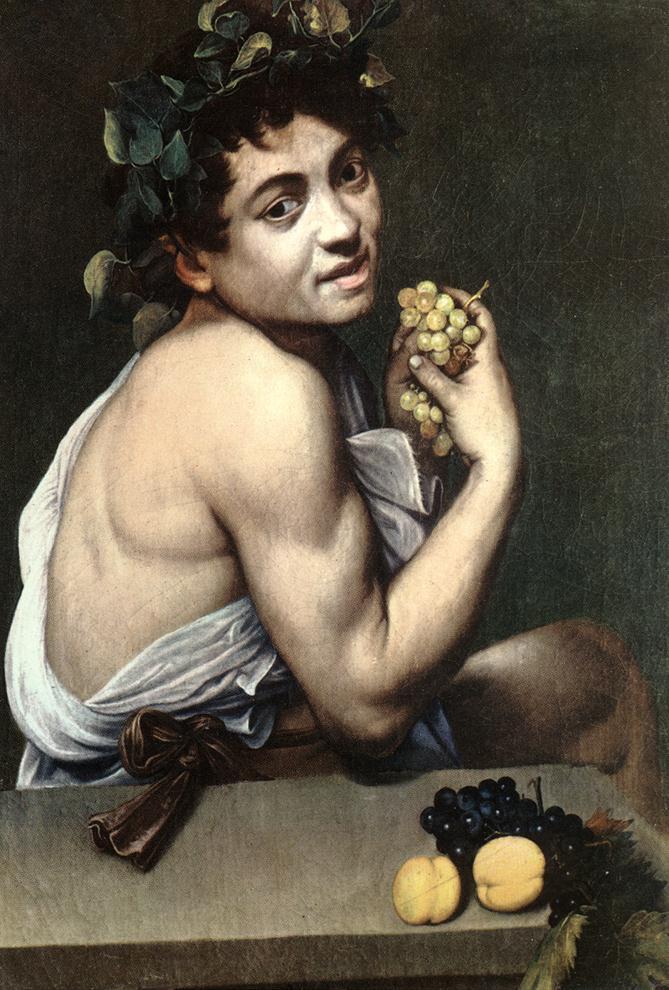 Sick Bacchus   Michelangelo Merisi da Caravaggio   Oil Painting