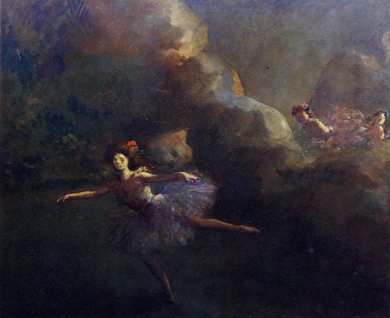 Dancers | Jean-Louis Forain | Oil Painting