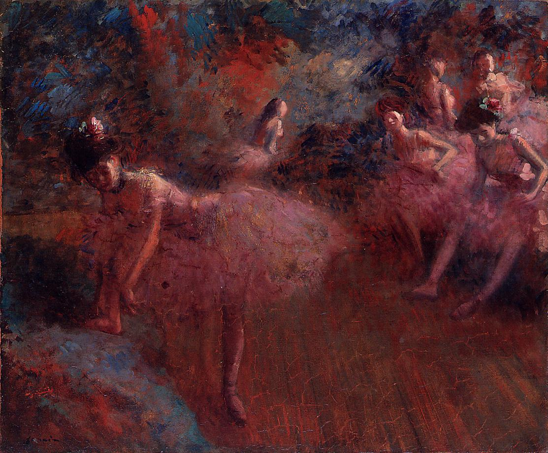 Dancers in Pink  1905 | Jean-Louis Forain | Oil Painting