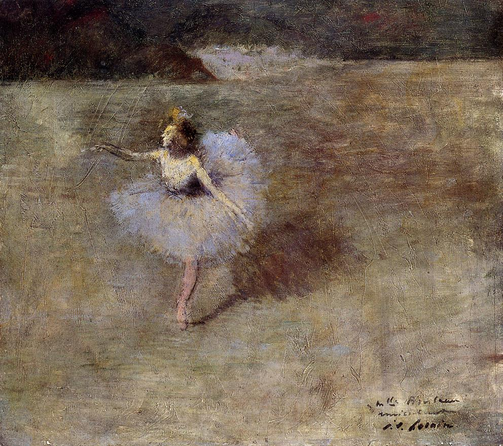 Dancer in Pink Tights | Jean-Louis Forain | Oil Painting