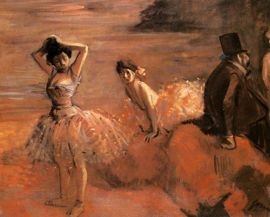 Interlude  1899 | Jean-Louis Forain | Oil Painting