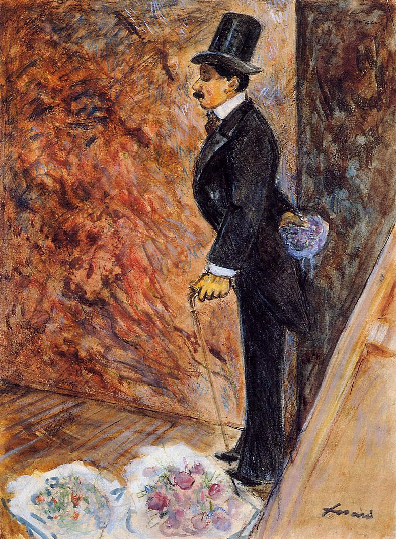 In the Wings  1878   Jean-Louis Forain   Oil Painting