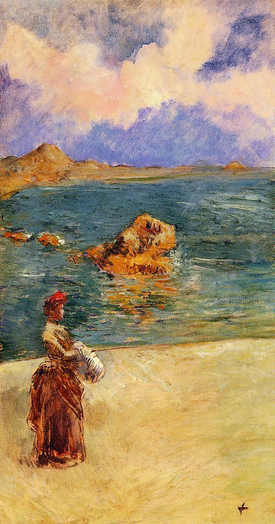 La Muse de Flots  1888 | Jean-Louis Forain | Oil Painting