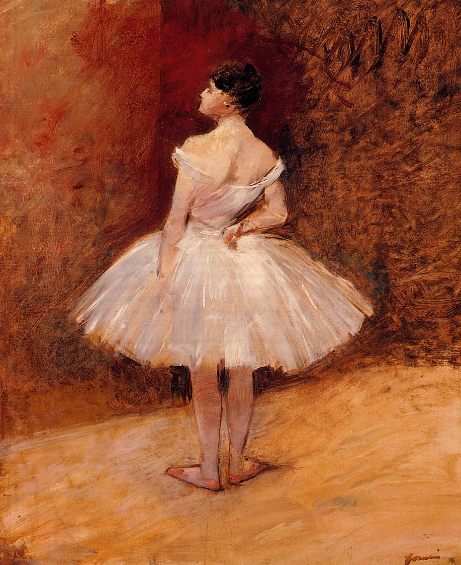 Standing Dancer  1890 | Jean-Louis Forain | Oil Painting