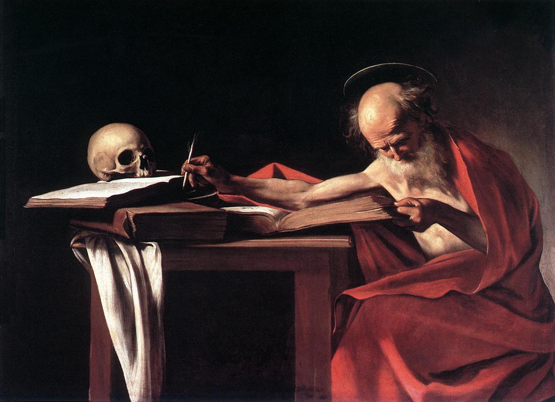 St Jerome2 | Michelangelo Merisi da Caravaggio | Oil Painting