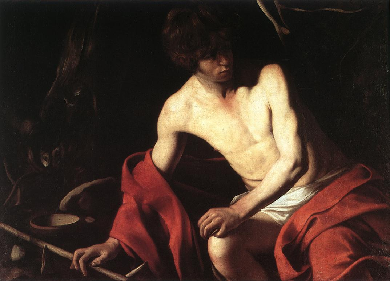 St John the Baptist1 | Michelangelo Merisi da Caravaggio | Oil Painting