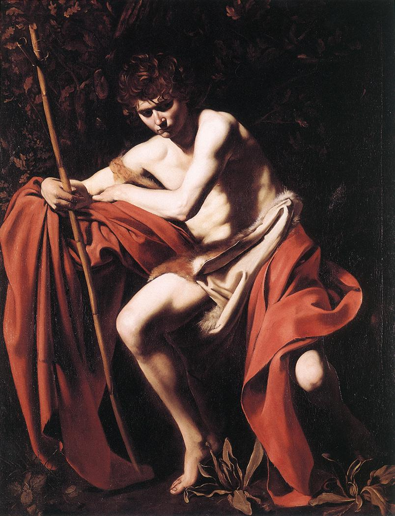 St John the Baptist2 | Michelangelo Merisi da Caravaggio | Oil Painting