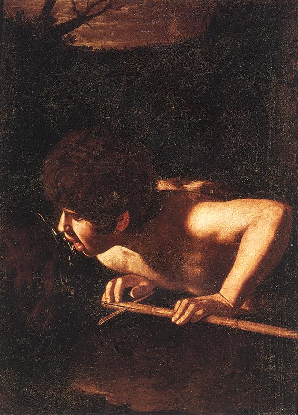 St John the Baptist at the Well | Michelangelo Merisi da Caravaggio | Oil Painting