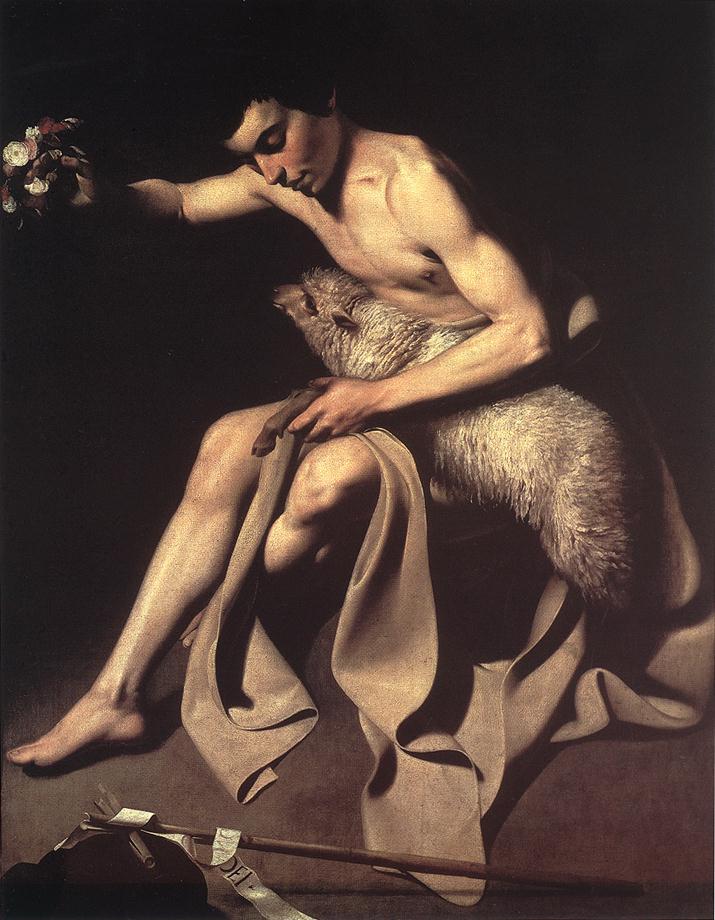 St John the Baptist | Michelangelo Merisi da Caravaggio | Oil Painting