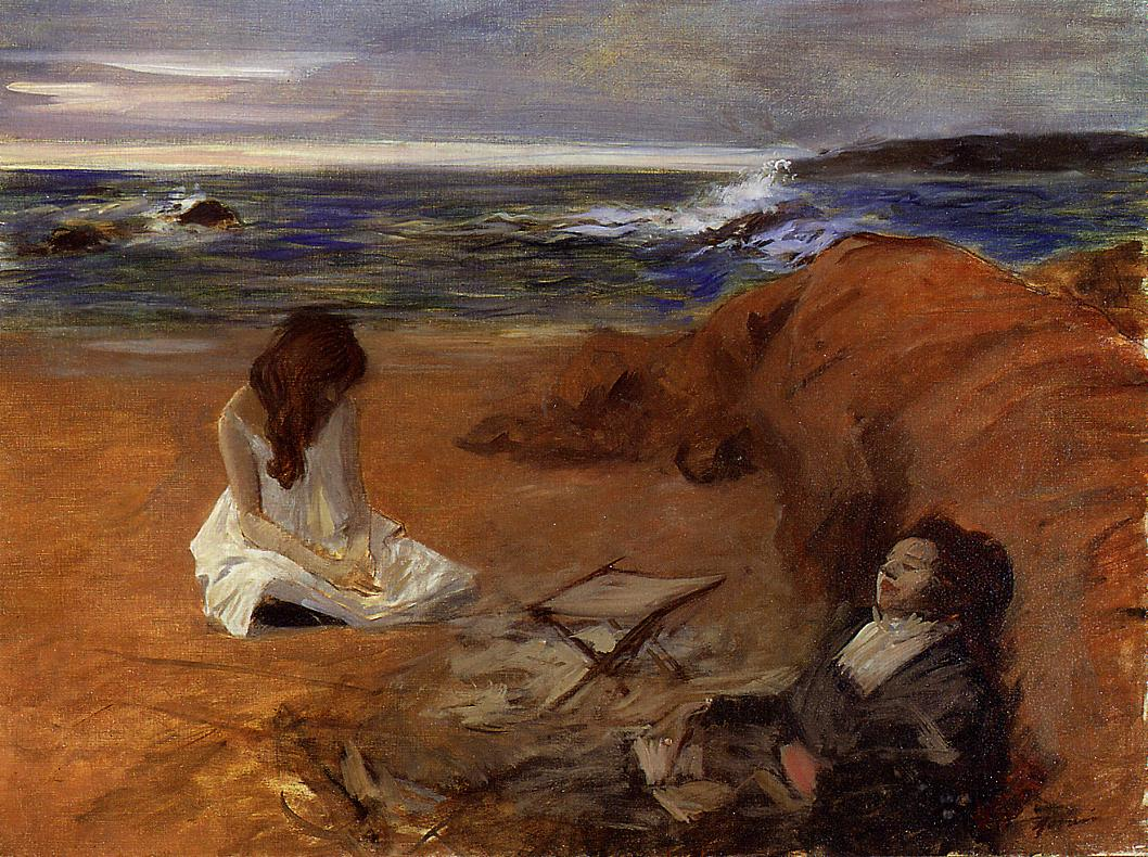 The Beach  1910-1914 | Jean-Louis Forain | Oil Painting
